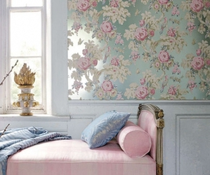 bedroom, classic, and decor image