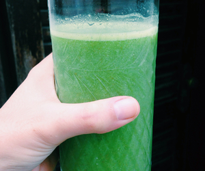 drink, green, and juice image