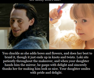daughter, makeover, and loki image