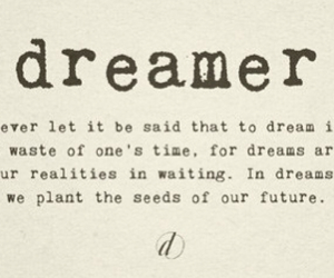 Dream, goal, and passion image
