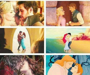 disney, once upon a time, and prince image