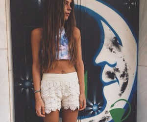 girl, indie, and summer image