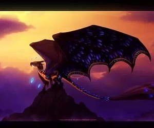 beautiful, dragon, and mythical image