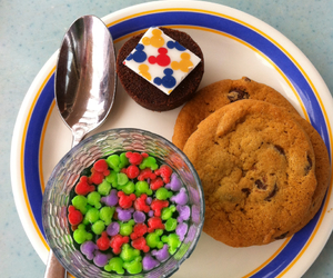 Cookies, mickey mouse, and sweets image