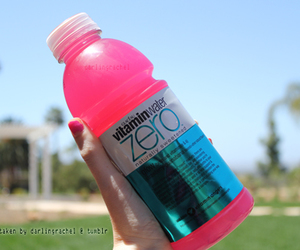 pink, cool, and drink image