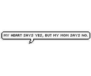 heart, mom, and no image