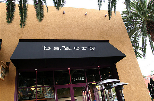 bakery, girl, and shop image
