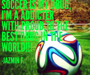 football, soccer, and soccer quotes image