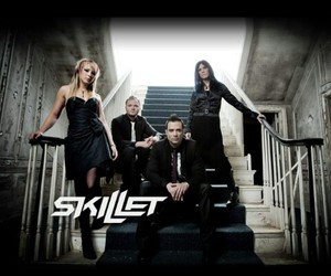 skillet, music, and rock image