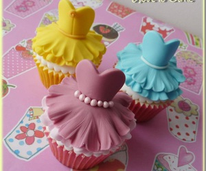 cupcake and dresses image
