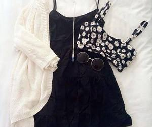 accessories, fashion, and black dress image