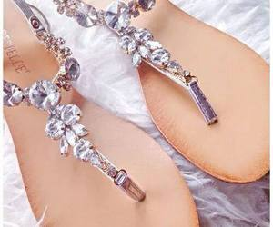 diamond, fashion, and sandals image