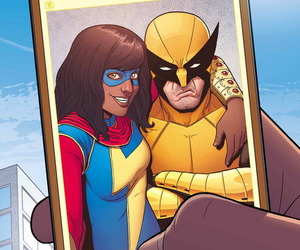 wolverine, Marvel, and ms. marvel image