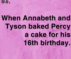 16, baked, and percy jackson image