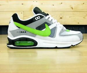 air max, black, and green image