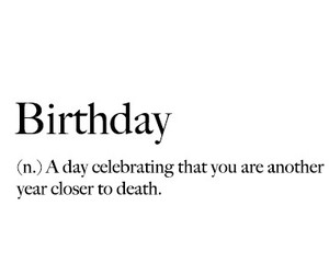 birthday, black and white, and definition image