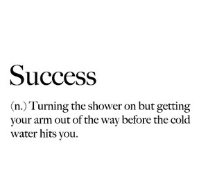 black and white, definition, and success image