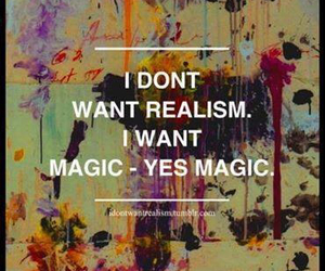 magic, realism, and quote image