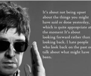 noel gallagher, oasis, and don't look back in anger image