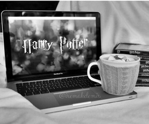 harry potter, movie, and book image