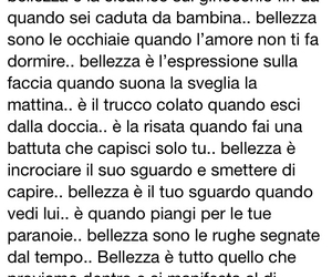 amore, bellezza, and frasi image