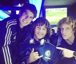 lucas piazon, Chelsea, and david luiz image