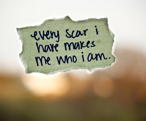 scars, quote, and text image