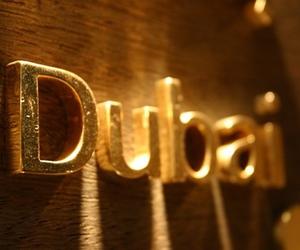 Dubai and gold image
