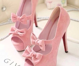 pink, shoes, and sweet image