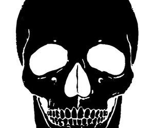 skull and black image