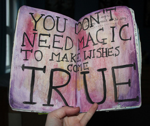 magic, wish, and true image