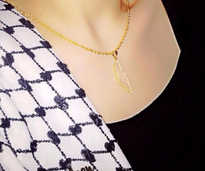 freedom, gold, and necklace image