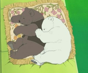 anime, Polar Bear, and bears image