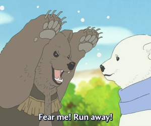 anime, bears, and grizzly image