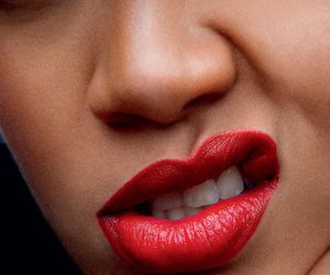 pretty, red lips, and wow image