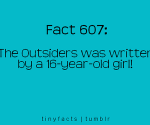 fact, girl, and text image