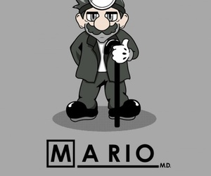 dr house and mario image