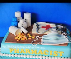 cake and pharmacy image