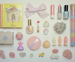 cute, pastel, and ribbon image