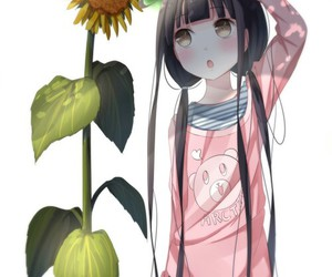 anime, children, and daughter image