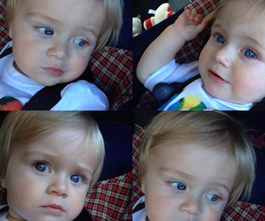 baby, eyes, and niall horan image