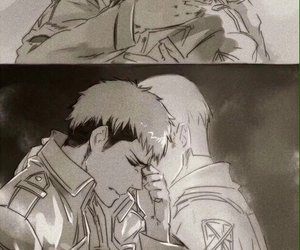 anime, yaoi, and snk image