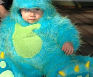 baby, blue eyes, and fofo image