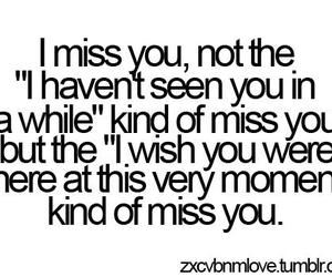 love, quotes, and miss you image