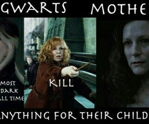 harry potter, mother, and molly weasley image