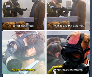 doctor who and funny image