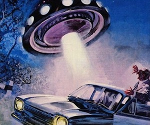 abduction and alien image