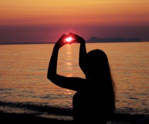 crete, freedom, and sunset image