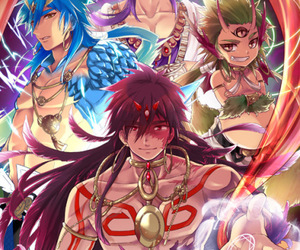Sinbad, magi, and anime image