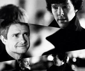 john, sherlock, and johnlock image